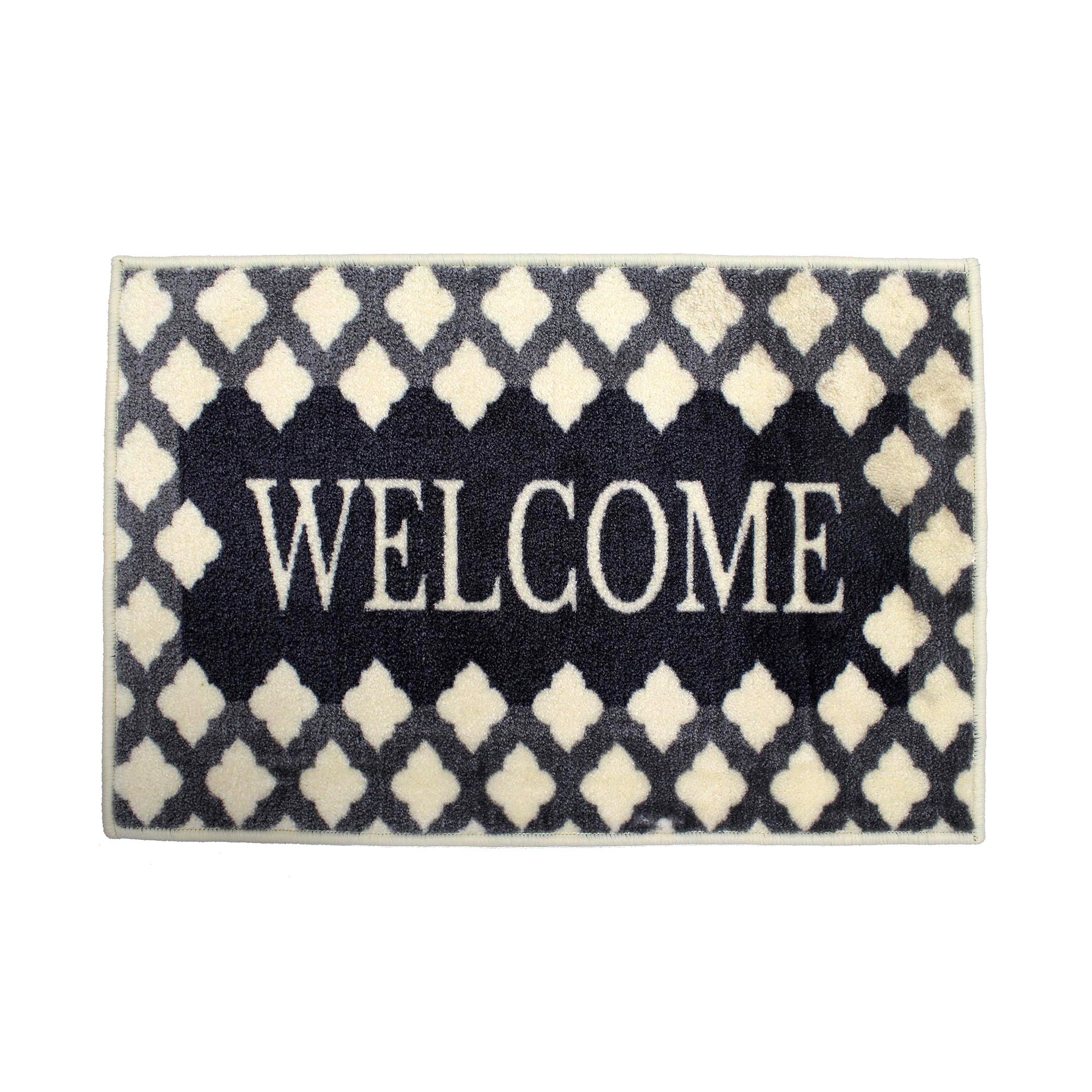 Fretwork Welcome Supersoft Washable Doormat