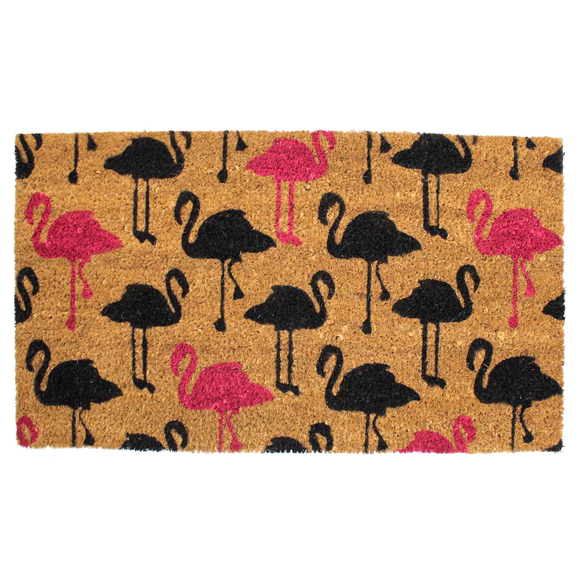 Flamingo Coir Doormat