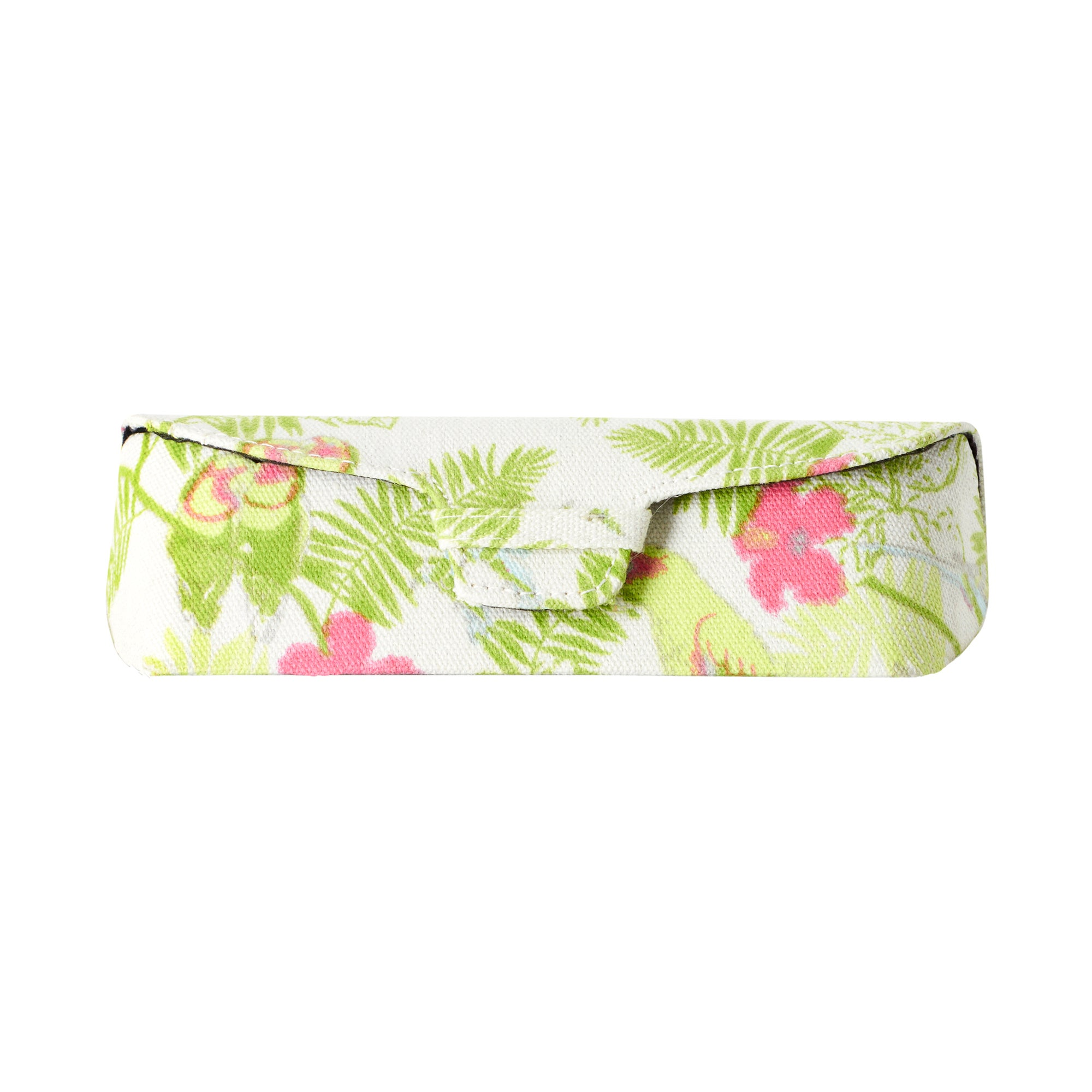 Tropical Collection Snap Closure Sunglasses Case