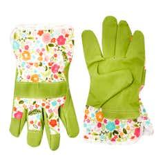 Floral Collection Garden Gloves
