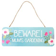 Floral Collection Wooden Garden Sign