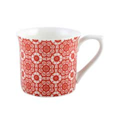 Inidigo Bazaar Collection Red Mug