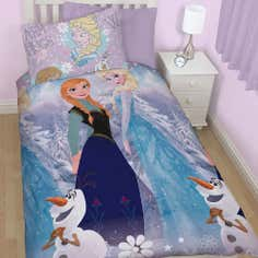 Kids Disney Frozen Collection Single Duvet Set