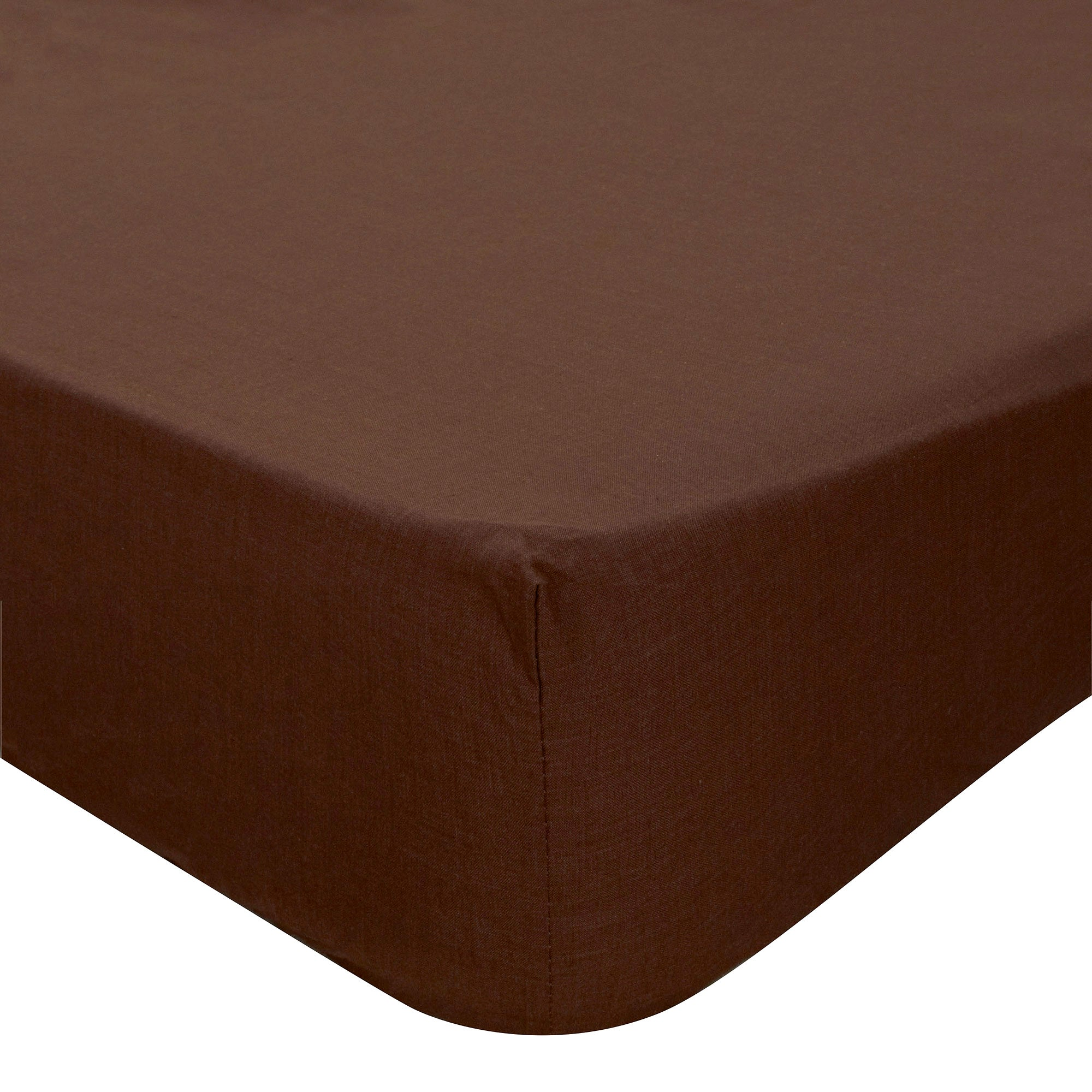 Non Iron Plain Dye Collection 28cm Deep Fitted Sheet