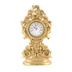 Gold Ornate Collection Mantel Clock