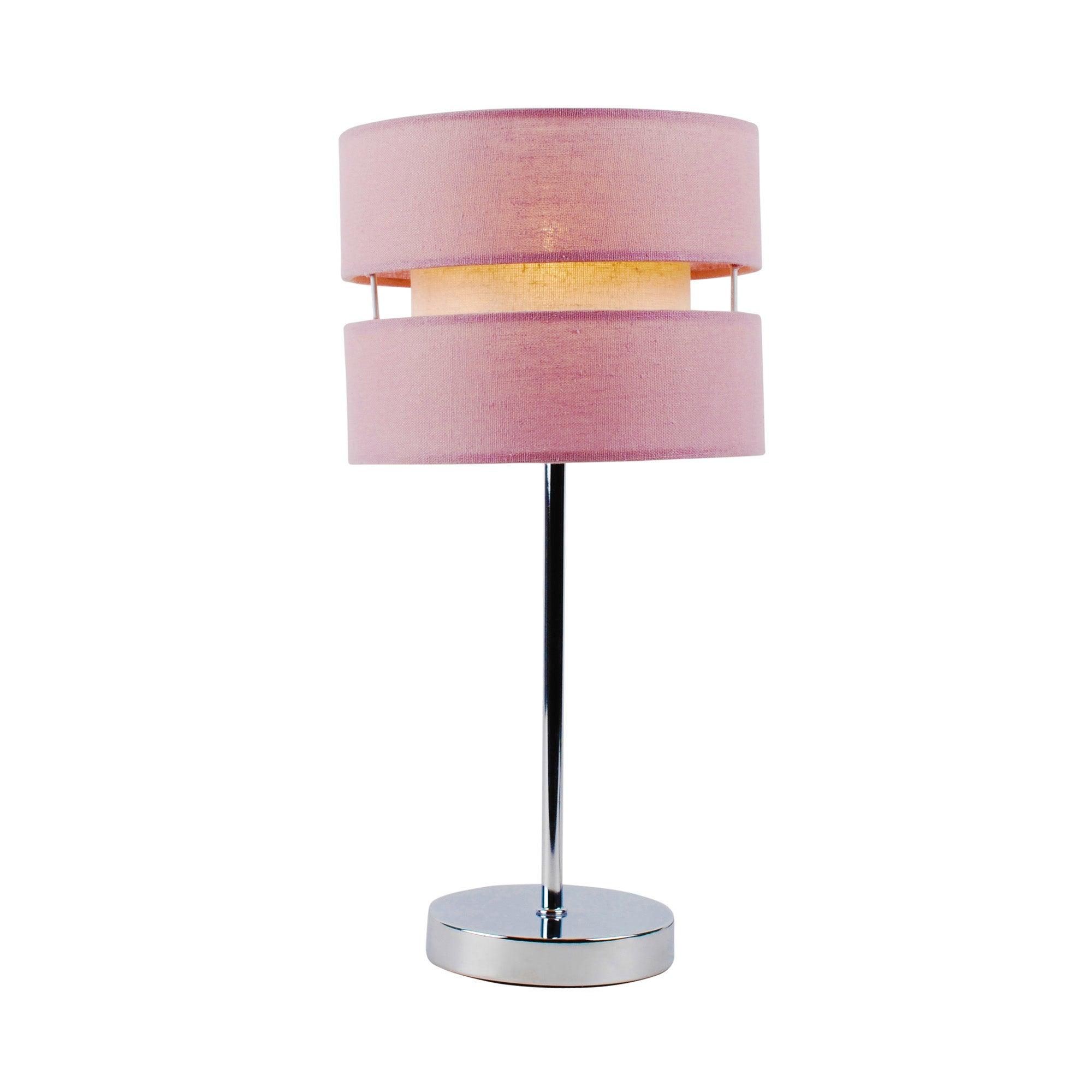 Mauve Frea Table Lamp