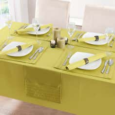 Lime Spectrum Collection Tablecloth