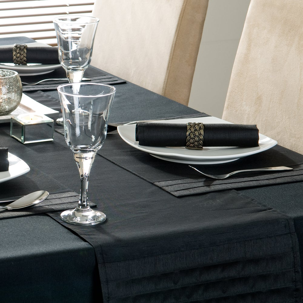 Black Spectrum Table Runner