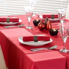 Red Spectrum Collection Tablecloth