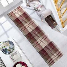 Red Balmoral Wool Rug
