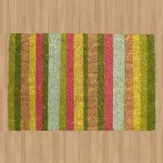 Bright Striped Mat