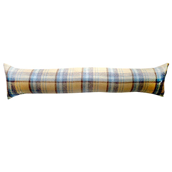 Duck Egg Tweed Draught Excluder