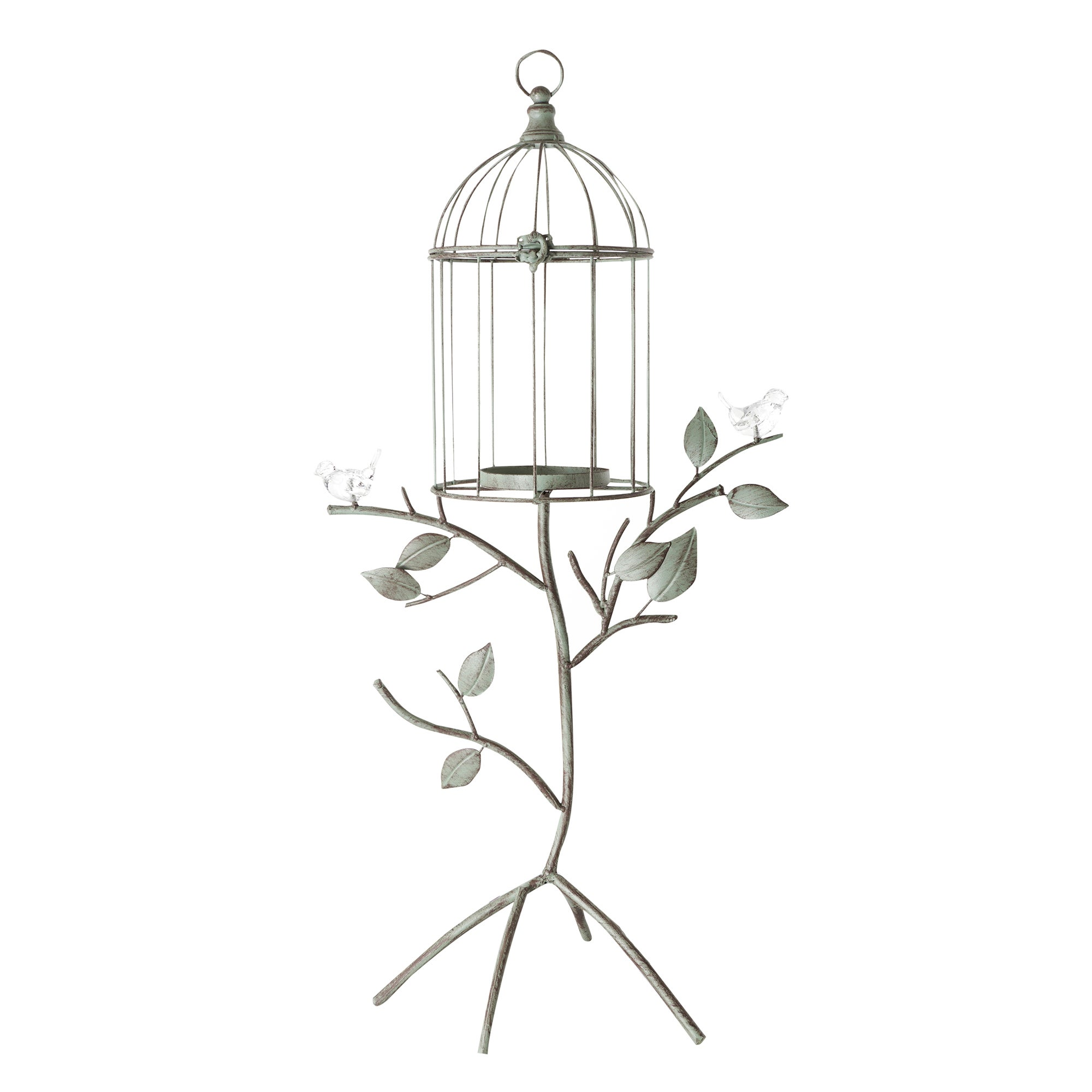 Brocante Collection Standing Birdcage Candle Holder