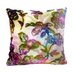 Misty Moors Velvet Cushion