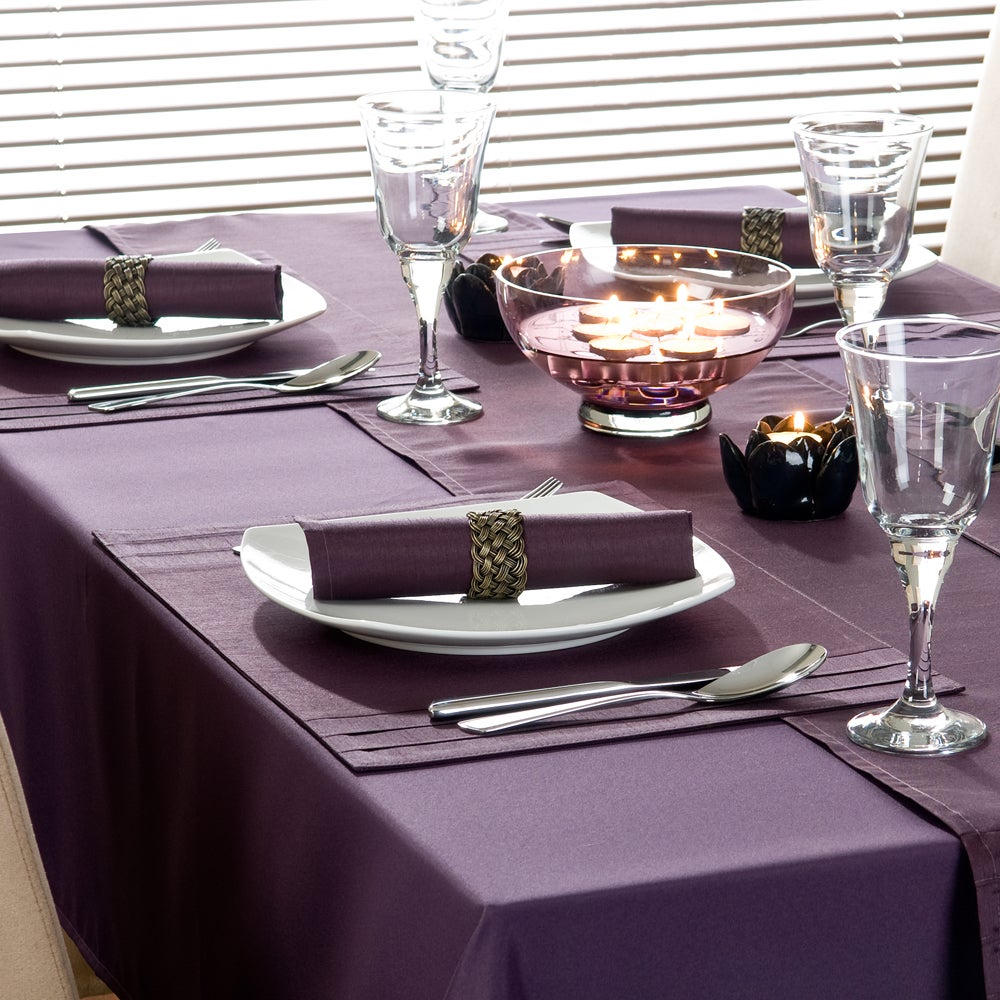 Purple Spectrum Collection Tablecloth