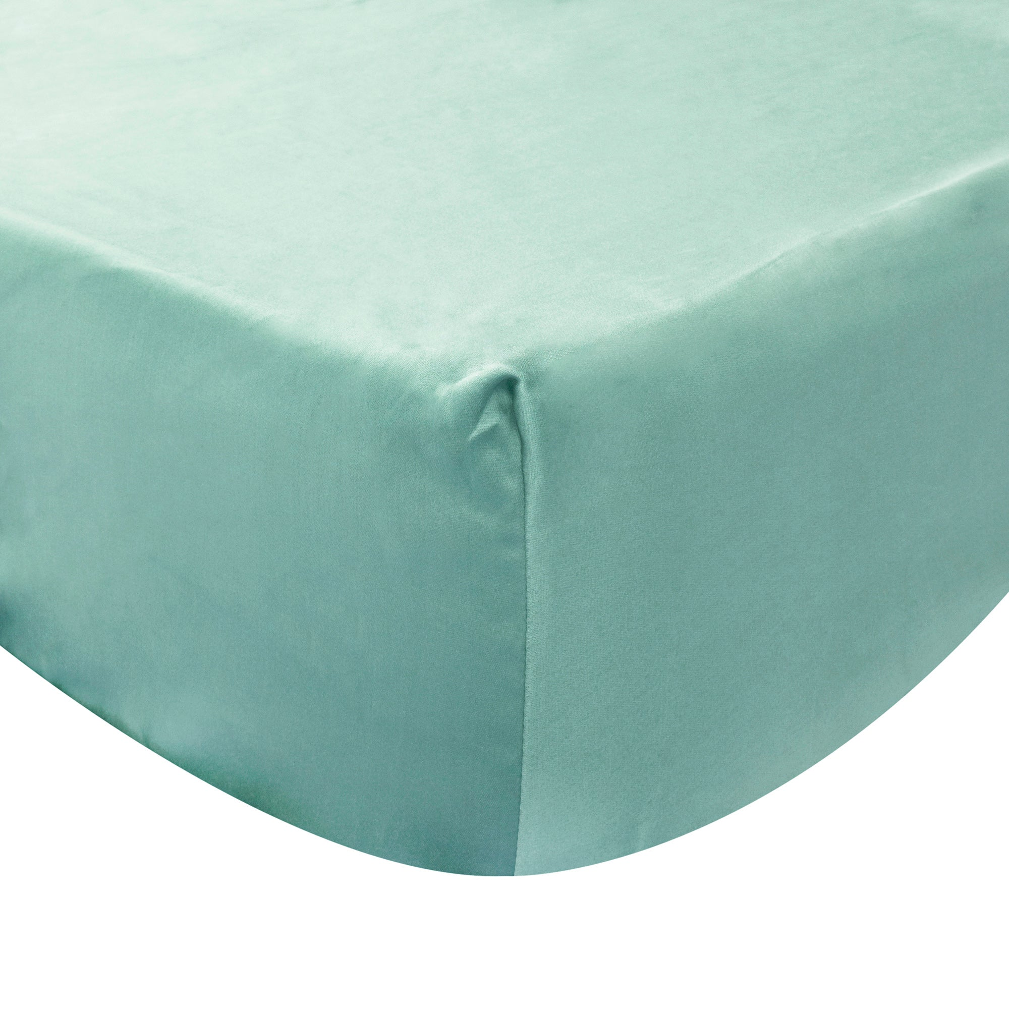 Havina Teal Fitted Sheet