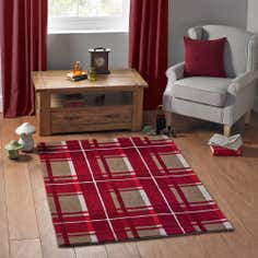 Highland Red Rug