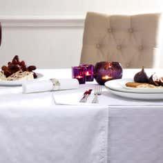 Hotel Microban Rectangular Medium Tablecloth