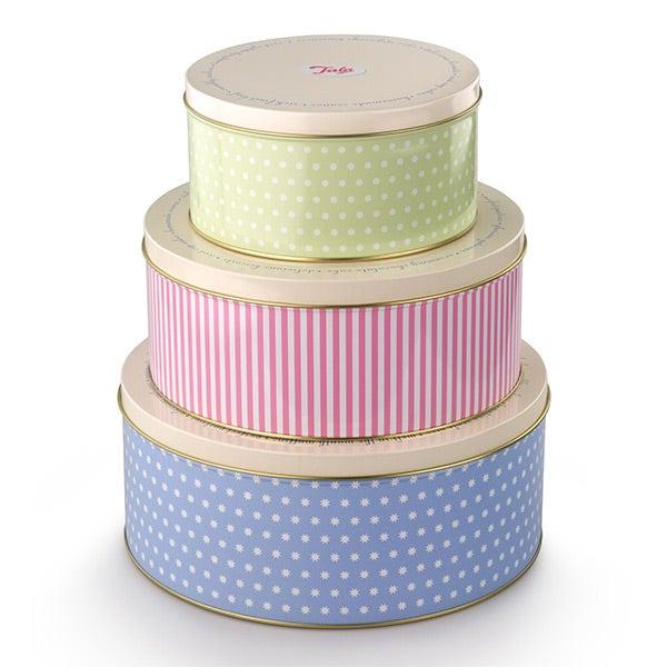 Dunelm Cake Storage Tins