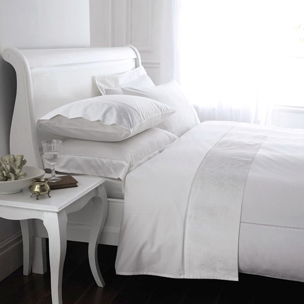 White Hotel Pima Plain 400 Thread Count Bedlinen Collection