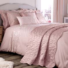 Dusky Pink Florentine Bedlinen Collection