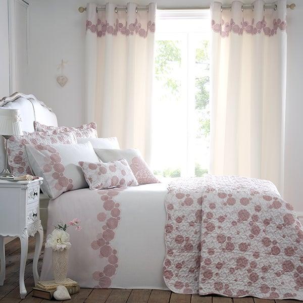Dusky Pink Phoebe Bedlinen Collection