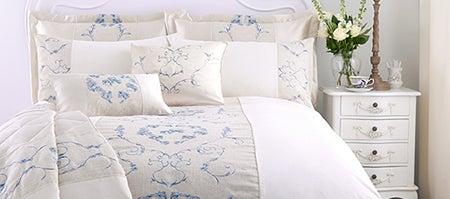 Blue Chateau Bedlinen Collection Dunelm