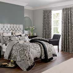 Dorma Black Verona Bedlinen Collection