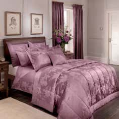 Dorma Plum Jasmina Bedlinen Collection