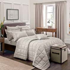 Dorma Natural Paisley Bedlinen Collection