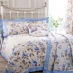 Blue Layla Bedlinen Collection