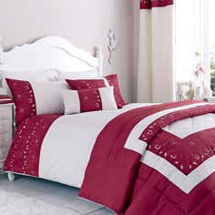 Red Felicity Bedlinen Collection