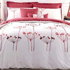 Red Cow Parsley Bedlinen Collection