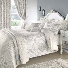Grey Frances Bedlinen Collection