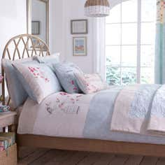 Duck Egg Evelyn Bed Linen Collection