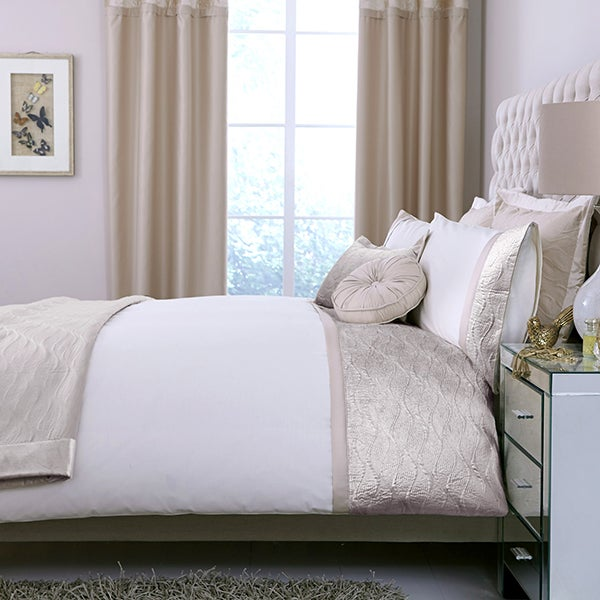 Champagne Velvet Crush Bed Linen Collection