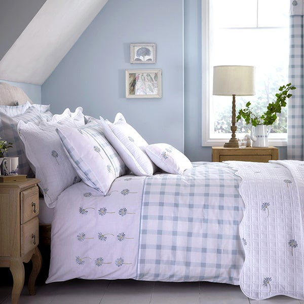 Duck Egg Daisy Bedlinen Collection
