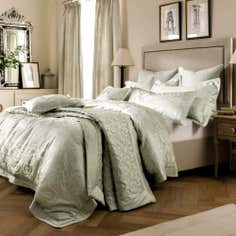 Dorma Green Osterley Bed Linen Collection