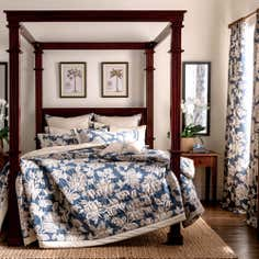 Blue Dorma Samira Bed Linen Collection