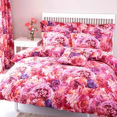 Pink Rose Petal Bed Linen Collection