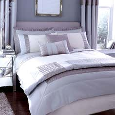 Silver Vienna Bedlinen Collection