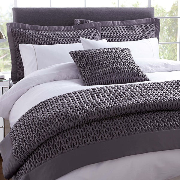 Hotel Charcoal Piccadilly Bed Linen Collection