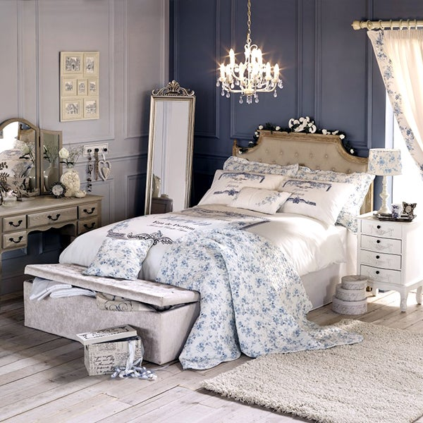 Chateau Blue Bedroom Collection