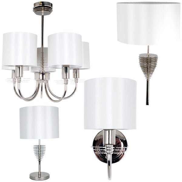 Hotel Metal Disc Lighting Collection