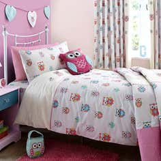Kids Pretty Owls Bed Linen Collection
