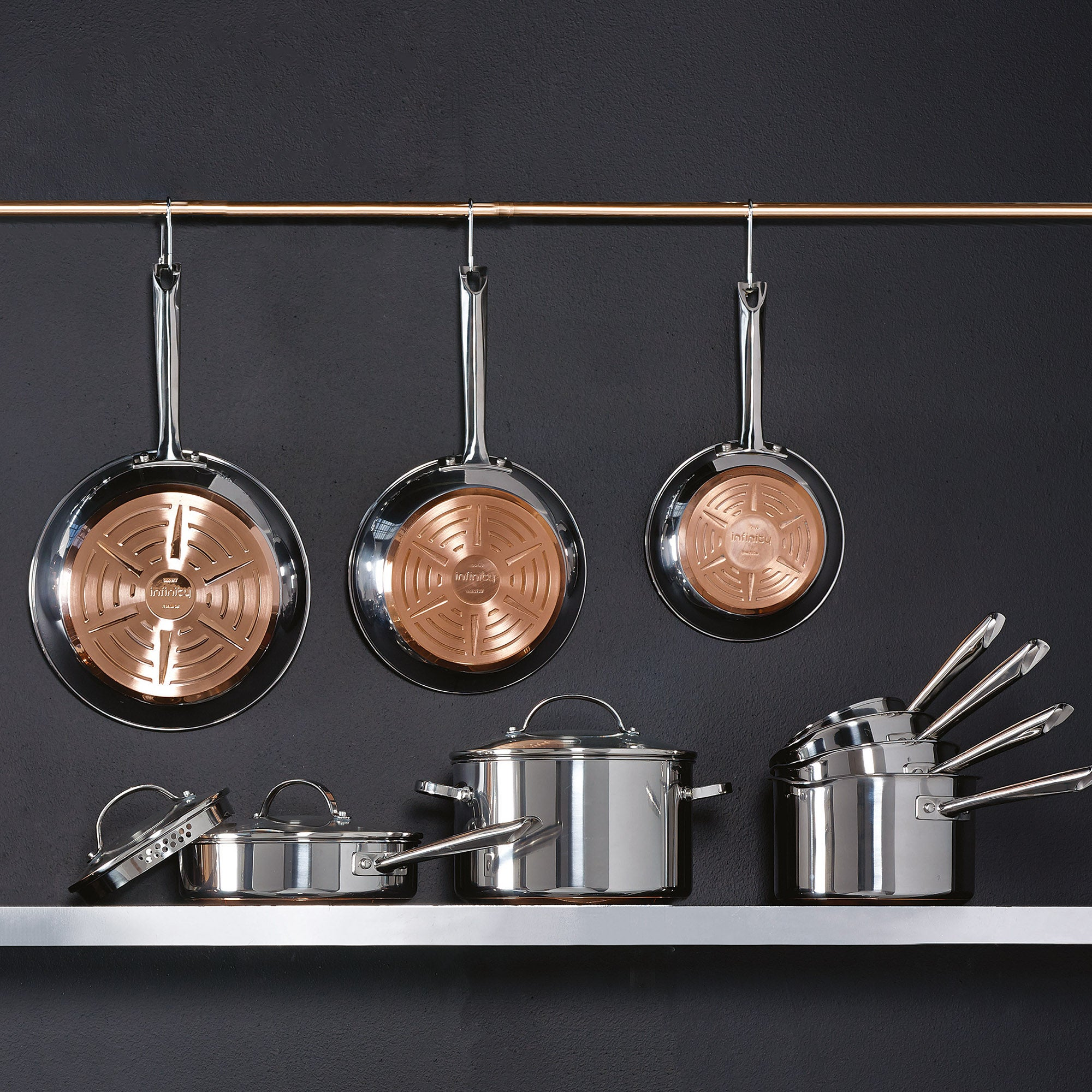 Infinity Copper Pan Collection