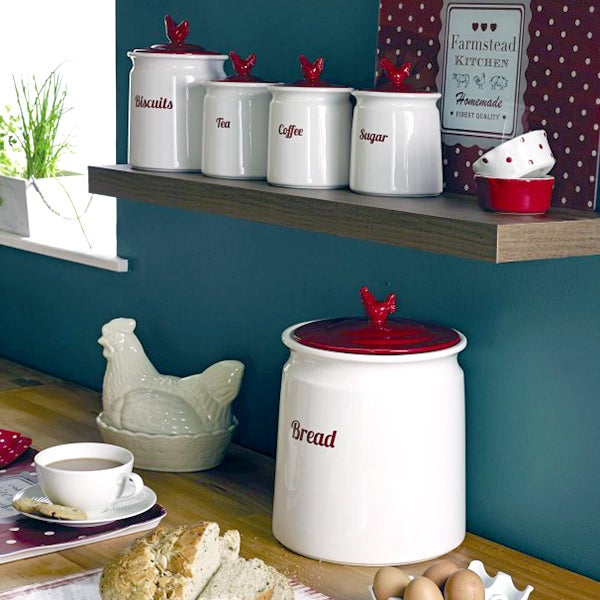 Rooster Canister Collection