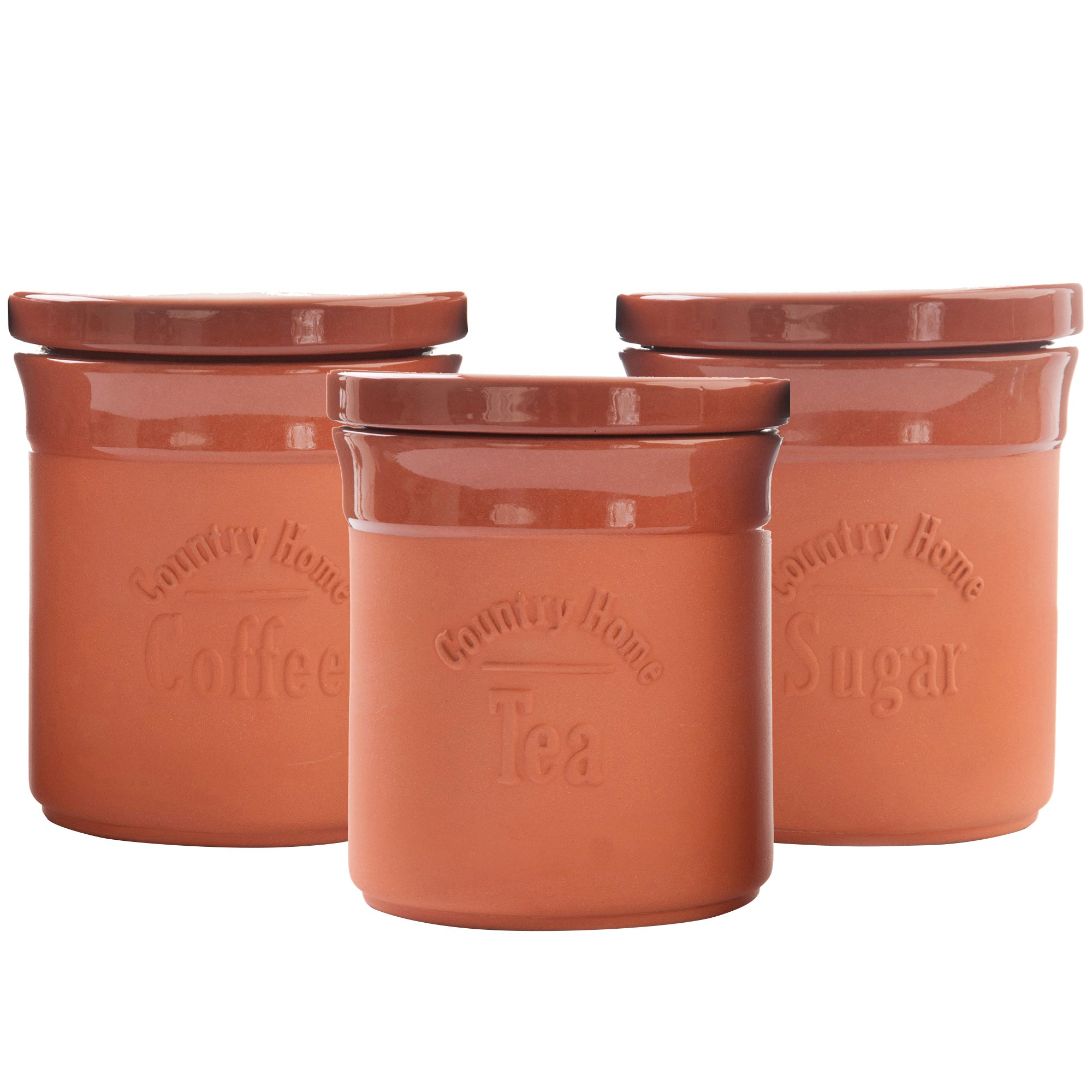 Terracotta Canister Collection