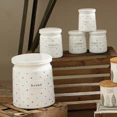 Cottage Heart Canister Collection