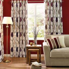 Wine Lalique Curtain Collection